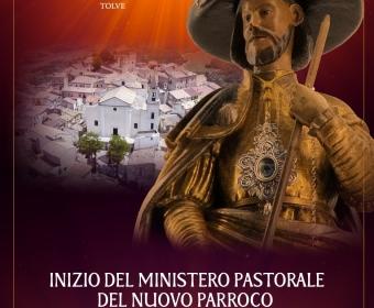 Inizio del Ministero Pastorale del Nuovo Parroco Don Francesco Martoccia